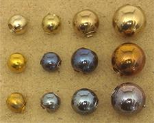 真鍮球熱処理