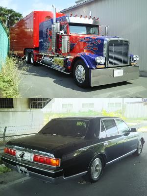 オプティマス&遺棄車