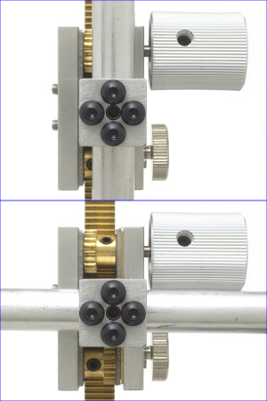 3軸戦車 ロッド接続部