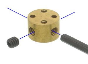 クレイ用接続具